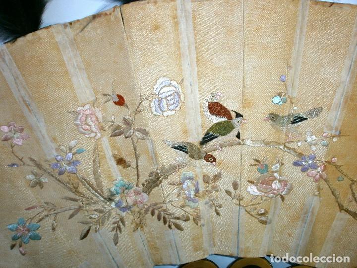 Antigüedades: ABANICO CHINO, MUY RARO, GRAN CONSERVACION. - Foto 15 - 70341105