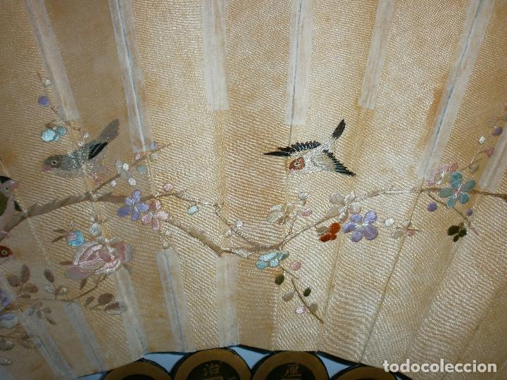 Antigüedades: ABANICO CHINO, MUY RARO, GRAN CONSERVACION. - Foto 16 - 70341105