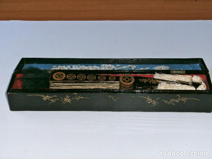 Antigüedades: ABANICO CHINO, MUY RARO, GRAN CONSERVACION. - Foto 18 - 70341105