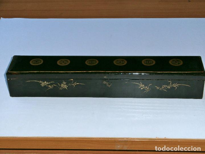 Antigüedades: ABANICO CHINO, MUY RARO, GRAN CONSERVACION. - Foto 19 - 70341105