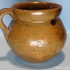 Antigüedades: PIEZA ARTESANAL DE CERÁMICA VIDRIADA.. Lote 70346758