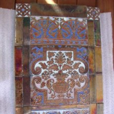 Antigüedades: MURAL AZULEJOS RAMOS REJANO. Lote 70413901