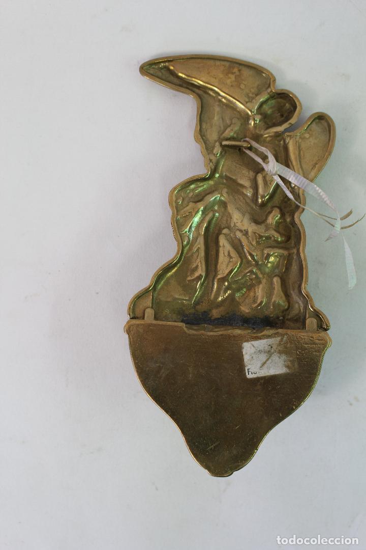 Antigüedades: benditera en bronce - Foto 2 - 70422665