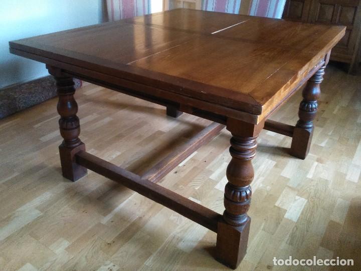 mesa de comedor de roble americano - Comprar Mesas Antiguas en ...