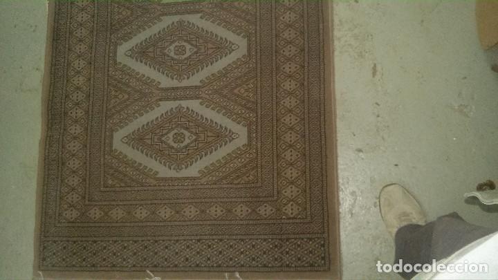 Antigüedades: 2 ALFOMBRAS MARCA (BOYER-SIRJAN) FELPA PURA LANA VIRGEN, ESTILO PERSA, 2,80X0,90 Y 1,20X0,90 m. - Foto 2 - 70487649