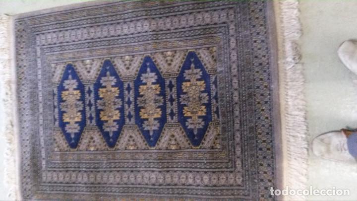 Antigüedades: 2 ALFOMBRAS MARCA (BOYER-SIRJAN) FELPA PURA LANA VIRGEN, ESTILO PERSA, 2,80X0,90 Y 1,20X0,90 m. - Foto 3 - 70487649