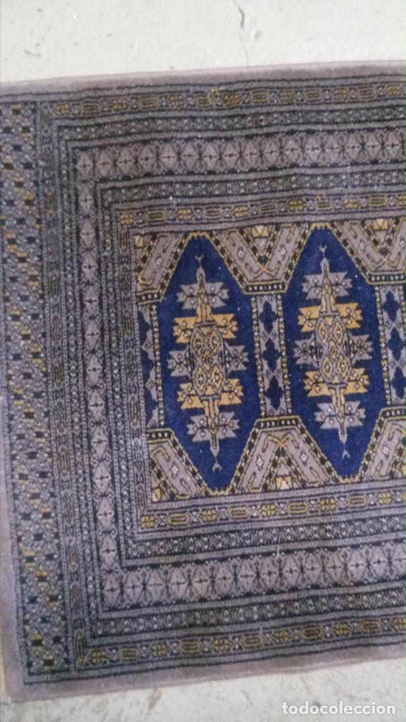 Antigüedades: 2 ALFOMBRAS MARCA (BOYER-SIRJAN) FELPA PURA LANA VIRGEN, ESTILO PERSA, 2,80X0,90 Y 1,20X0,90 m. - Foto 4 - 70487649