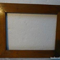 Antigüedades: MARCO ANTIGUO SIGLO XX EN MADERA DE HAYA, 3000-260. Lote 70494209