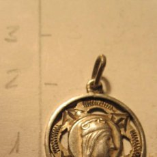 Antigüedades: MEDALLA DE PLATA DE LA VIRGEN DE MONTSERRAT DEL XIX. Lote 70494341