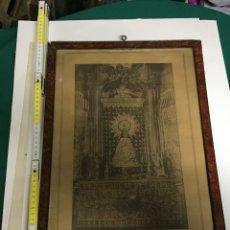 Antigüedades: CUADRO VIRGEN DEL PILAR. Lote 70496943