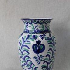 Antigüedades: JARRON EN CERAMICA DE FAJALAUZA. Lote 70512789