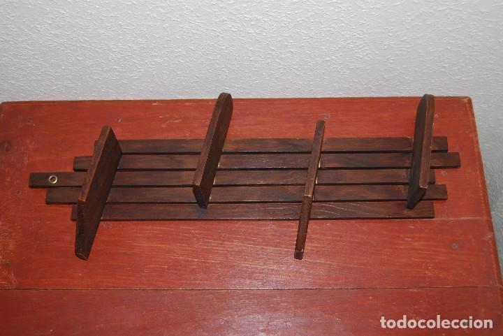 Antigüedades: ORIGINAL BALDA DE MADERA - REPISA - AÑOS 30-40 - ART DÉCO - Foto 6 - 70521537