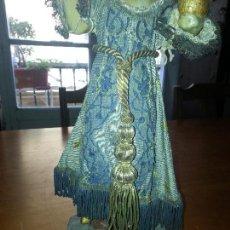 Antigüedades: CINGULO FAJIN BORLA CANUTILLO ORO CORDON ORO PARA NIÑO JESUS VIRGEN SEMANA SANTA , . Lote 70539113