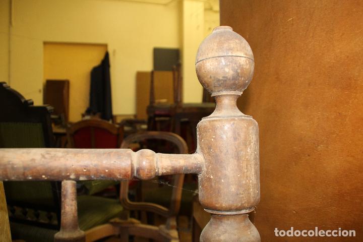 Antigüedades: CAMA ANTIGUA (PARA RESTAURAR) - Foto 2 - 54907263