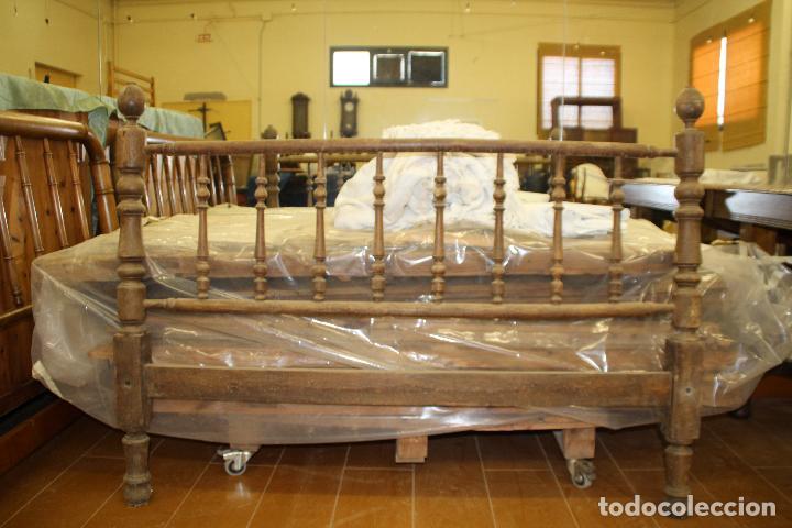 Antigüedades: CAMA ANTIGUA (PARA RESTAURAR) - Foto 5 - 54907263