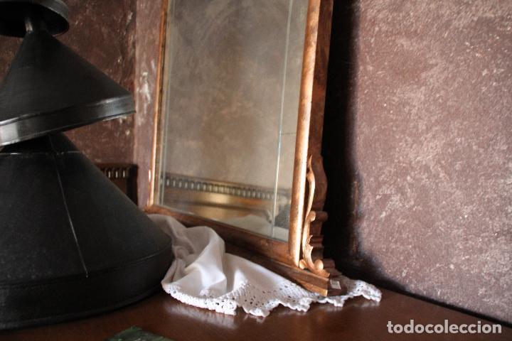 Antigüedades: PRECIOSO ESPEJO, RESTAURADO - Foto 4 - 54928249