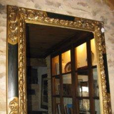 Antigüedades: ANTIGUO MARCO CON ESPEJO. Lote 71038753