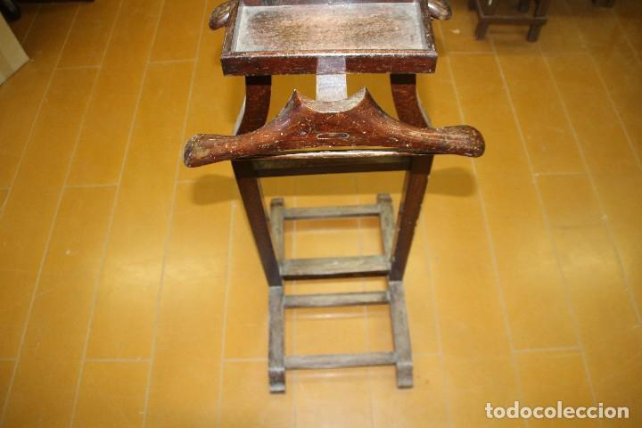 Gal n de noche para restaurar doble percha comprar for Antiguedades para restaurar