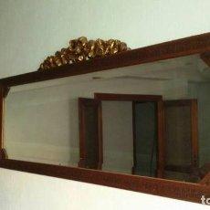 Antigüedades: ESPEJO LEER. Lote 71053833