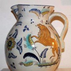 Antigüedades: GRAN JARRA DE BOLA - TALAVERA - RUIZ DE LUNA - PRINCIPIOS DEL SIGLO XX. Lote 71060025