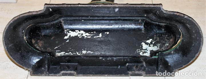 Antigüedades: BASTONERO EN HIERRO FUNDIDO - CORNEAU ALFRED CHARLEVILLE - FORMA DE MARINERO FRANCÉS - H. 1880 - Foto 16 - 71066177