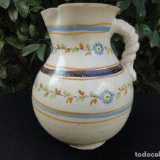 Antigüedades: CERÁMICA DECORADA: JARRA DE TALAVERA SIGLO XIX. Lote 71072301