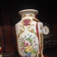 Antigüedades: PRECIOSO JARRON EN PORCELANA DE LIMOGES.. Lote 71138945