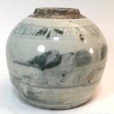 Antigüedades: BOTE EN CERÁMICA. CHINA. S. XVIII. Lote 71163037