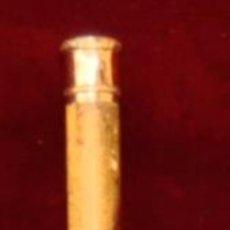 Antigüedades: ANTIGUO BASTON CON EMPUÑADURA DE ORO DE 18 KTS.. Lote 71173853