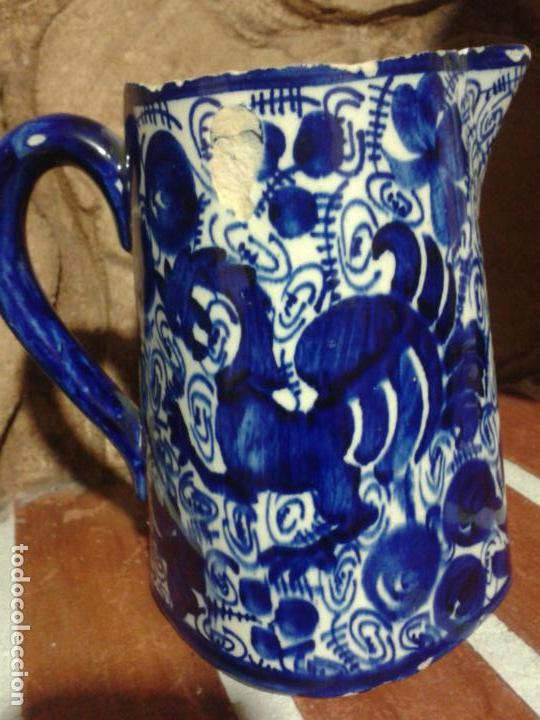 JARRITA AZUL POSIBLE TALAVERA (Antigüedades - Porcelanas y Cerámicas - Talavera)