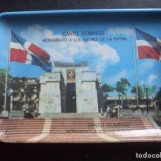 Antigüedades: CENICERO SANTO DOMINGO MONUMENTO A LOS PADRES DE LA PATRIA. Lote 71034789
