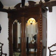 Antigüedades - Antiguo Dormitorio de nogal s.XIX - 71217833