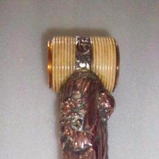 Antigüedades: BASTÓN DOBLE USO CON CATALEJO FRANCÉS. FINALES SIGLO XVIII-PRINCIPIOS SIGLO XIX.. Lote 71324111