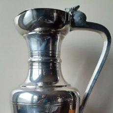 Antigüedades: JARRA PLATA INGLESA CON TAPA-NUMERADA.. Lote 71365335