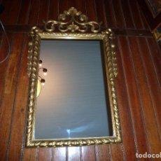 Antigüedades: ESPEJO DE TALLA DORADO. Lote 71397415