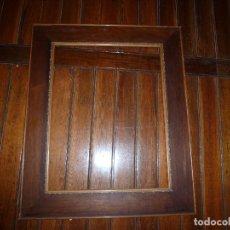 Antigüedades: MARCO DE MADERA CON MARQUETERIA. Lote 71397711
