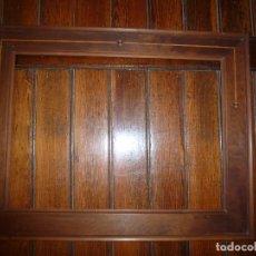 Antigüedades: MARCO DE MADERA CON MARQUETERIA. Lote 71397959