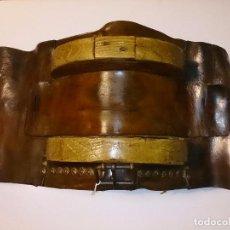 Antigüedades: APEROS DE CUERO. Lote 71416163