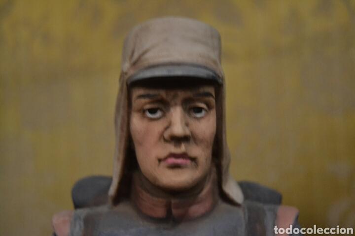 Antigüedades: figuras de soldados porcelana algora en - Foto 6 - 71458965