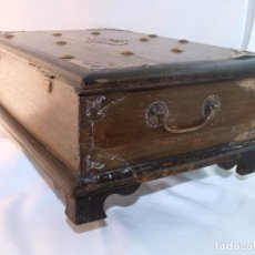 Antigüedades: ANTIGUA ARQUILLA ARCA MADERA. Lote 71502703