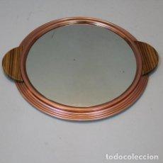 Antigüedades: BANDEJA ART DECÓ REDONDA FRANCESA. Lote 71541655