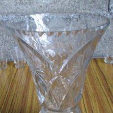 Antigüedades: JARRON DE CRISTAL BACCARAT LABRADO. Lote 71564323
