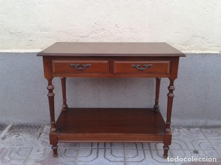 Mueble auxiliar antiguo mesa auxiliar para tel comprar - Ver muebles antiguos ...