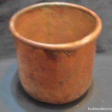 Antigüedades: OLLA DE ALAMBIQUE DE COBRE. Lote 71625043