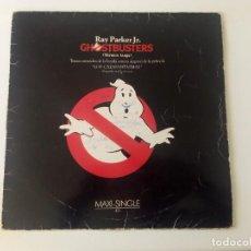 Discos de vinilo: GHOSTBUSTERS. MAXI SINGLE. ESPAÑA. ARISTA.1984. Lote 71661327