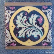 Antiguo azulejo b mart n y compa a marca comprar azulejos antiguos en todocoleccion - Azulejos onda castellon ...