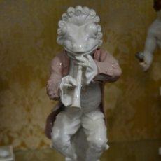 Antigüedades: FIGURA DE PORCELANA ALGORA. Lote 73050681