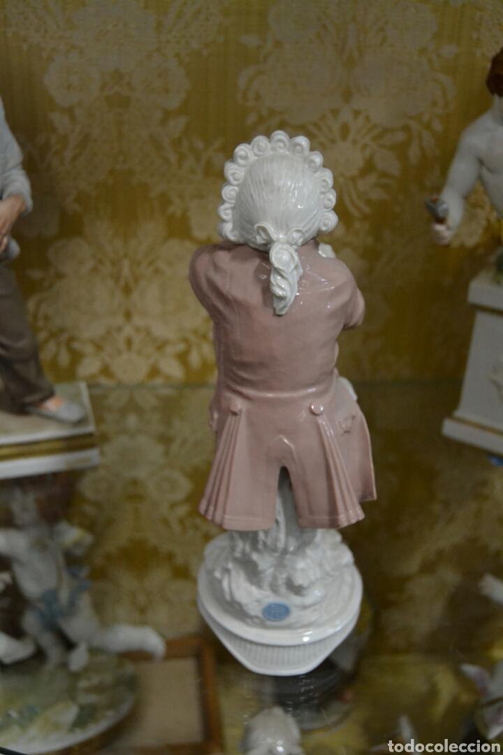 Antigüedades: figura de porcelana algora - Foto 4 - 73050681