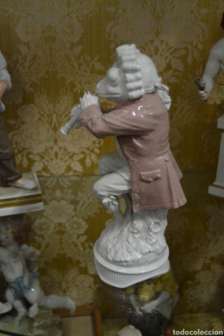 Antigüedades: figura de porcelana algora - Foto 5 - 73050681