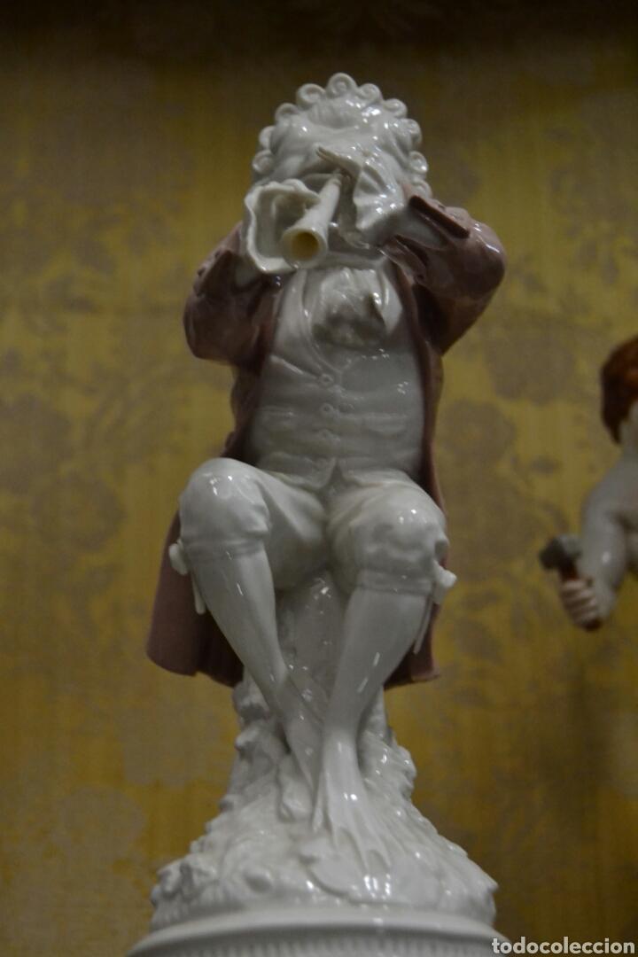 Antigüedades: figura de porcelana algora - Foto 7 - 73050681